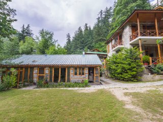 Regal 3-BR cottage with a stunning alpine view