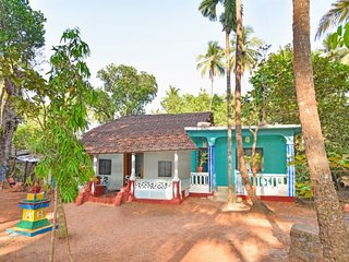 Charming 2-BR stay, 1 km from Anjuna Beach