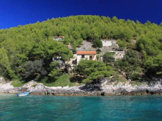 Two bedroom house Bratinja Luka, Korcula (K-12599)