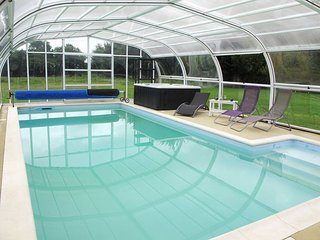 4 bedroom Villa in Lengronne, Normandy, France : ref 5441969