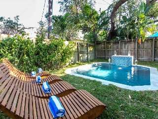 Sextant's Bohemian Bungalow—Heated Plunge Pool, 10 minutes to South Beach