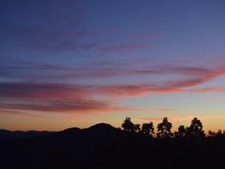 Sunset across the BlueRidge