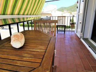 Nice apartment with terrace 3 min walk from the beach
