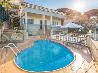 5 bedroom Villa in Sant Pol de Mar, Catalonia, Spain : ref 5540992