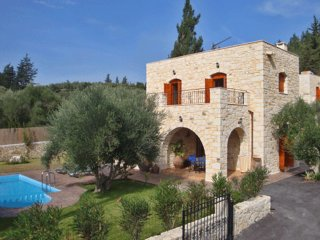 3 bedroom Villa in Nipos, Crete, Greece : ref 5557046