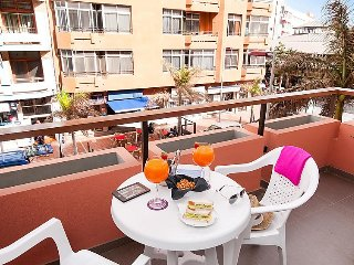 Apartment with Terrace by the beach