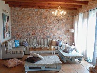 4 bedroom Villa in Poúlithra, Peloponnese, Greece : ref 5542856