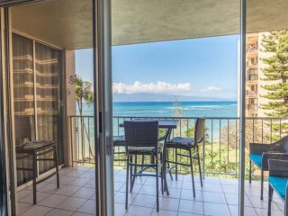 Amazing view from Lanai...other Sliding Glass Door is to Master Bedroom of the Unit.