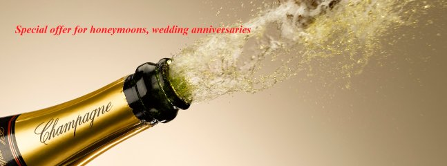 For birthdays, honeymoons, wedding anniversaries, we always do our best!