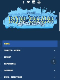 Upcoming events: Bayou Bogaloo..Dabcing,music,  delightful food..checkout the website - Free Admissi