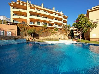 Two bedroom apartment with sea views Mijas Costa