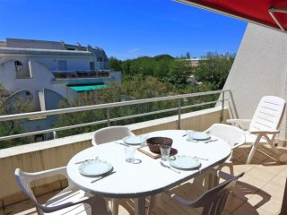 Rental Apartment La Grande-Motte, 2 bedrooms, 6 persons