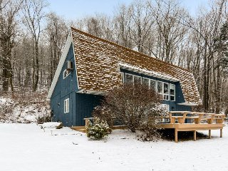 Dog-friendly lakehouse w/ boat slip, spacious deck, & partial views of the water