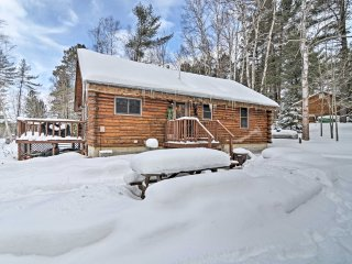 NEW! 2BR+Loft Manistique Cabin w/Thunder Lake View