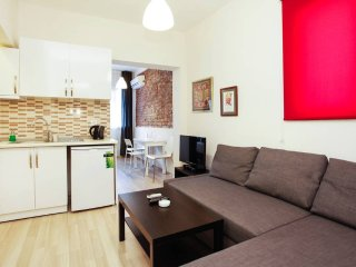 Apartment in Istanbul with Internet, Air conditioning, Balcony, Washing machine