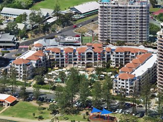 Calypso Plaza Resort Units 215 & 217 COMBINED - Beachfront Coolangatta