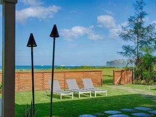 Beachfront on Hanalei Bay, New Construction, A/C, Modern!