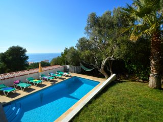Villa Belinda with private pool and sea views