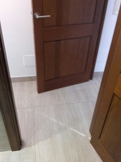 Access to ground floor bathroom 65cm wide