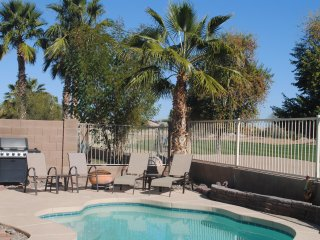 3BR Home W/Heated Pool, Golf, Spring Training Baseball, Nascar, & Mountain Views