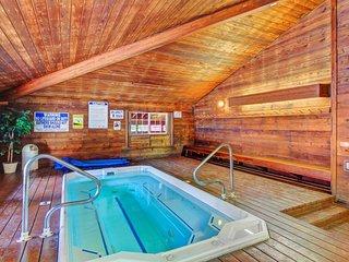 Ski-in/ski-out condo w/ shared hot tub, pool, & entertainment - dogs ok!