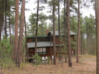 Family cabin next to the National Forest!