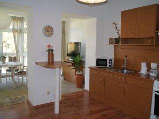 82 qm Ferienwohnung direkt am Rosengarten in Bad Elster *Haus Parzival* 1.OG