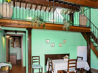 Green Apartment in a 19th-Century Winery
