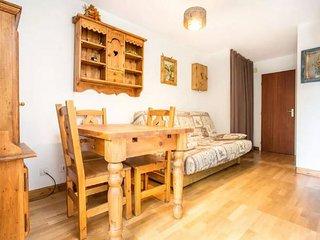 Le coin salon avec son canapé lit pour votre plus grand confort