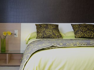 Centrico, tranquilo, con wifi y gym (2 dormitorios)