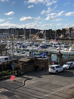 Views of the comings and goings in the Marina
