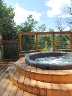 view from your hottub