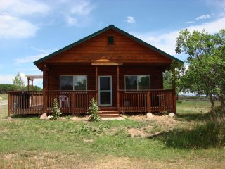 Pine Ridge Cabin #4 at Mt. Peale Sanctuary (Near Moab, UT)