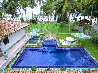 Luxary Beach front Villa with Private Pool
