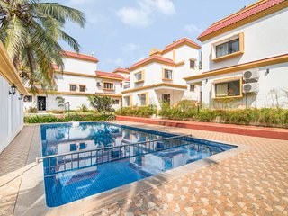 3-BR pool villa, close to Anjuna Beach