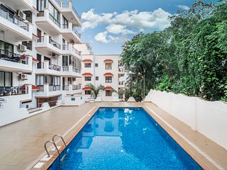 1-BR apartment, near Vagator Beach