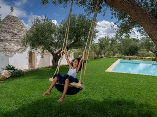 Luxury Trullo Atena with private pool, gym and Turkish bath