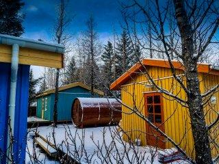 Backyard Village - Turquoise  Cottage