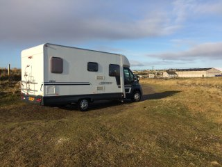 Swift Escape Motorerhome for Hire Throughout scotland