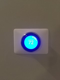 You will have complete control of the temperature with our Nest system!