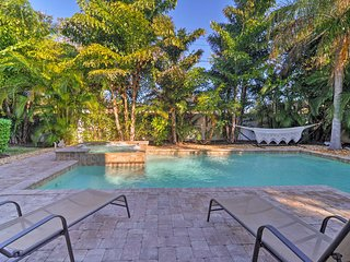 Holmes Beach Family Home w/Private Pool & 3 Decks!