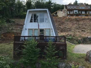 A Frame home over looking Lake Winnisquam