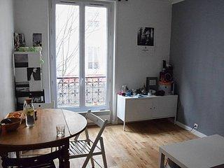 Cosy apartment in the trendy 'Batignolles' area