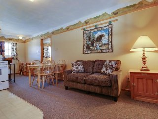 Dog-friendly, 17-unit property with hot tubs, fireplaces & space for 102 people!
