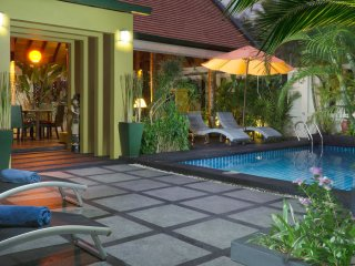 Exotic Tropical Villa with Pool, 150 mtrs to beach, and with Free Transfer