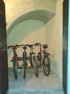 ask us about the bikes to explore the historic center and the close beaches