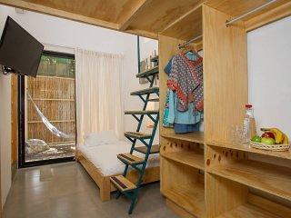 JACARANDAS-habitacion para 3 personas en Mazatlan