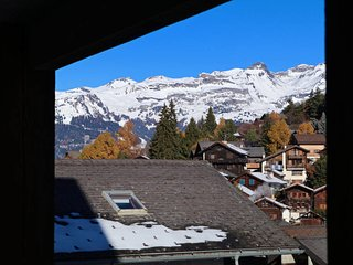 Apartment 200m from the Vercorin cable car