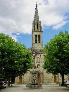 L'église de Banne