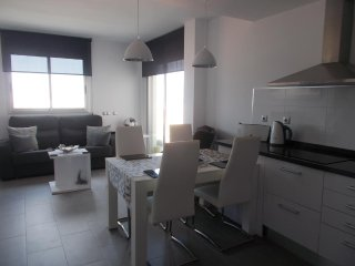 top floor beach apartment in La Mata
